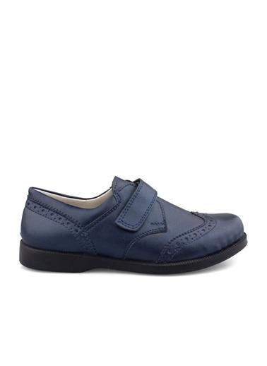 Cici Bebe Ayakkabı Rugan E Erkek Çocuk Ayakkabısı Lacivert